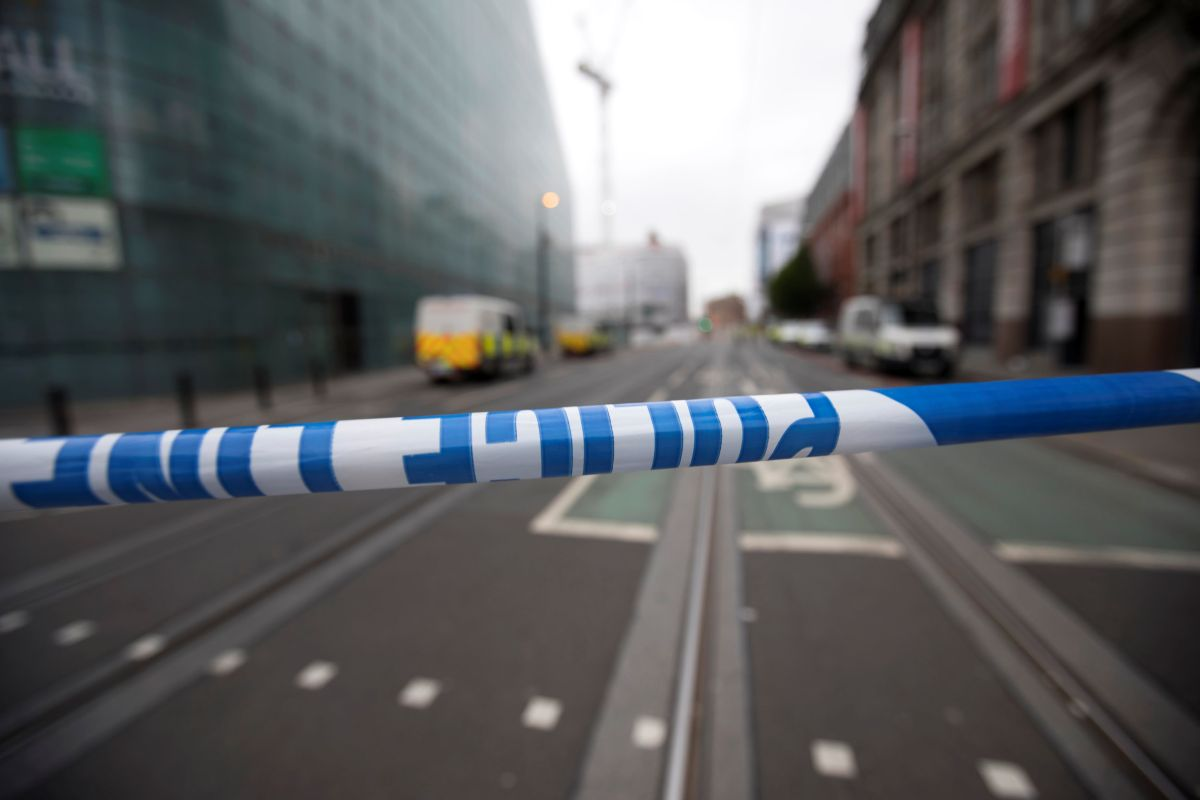Место теракта в Манчестере / REUTERS