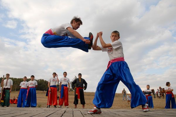 Верховная рада Украины признала «боевой гопак» общенациональным видом спорта