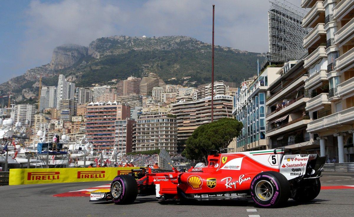 Феттель установил новый рекорд трассы в Монако / Reuters
