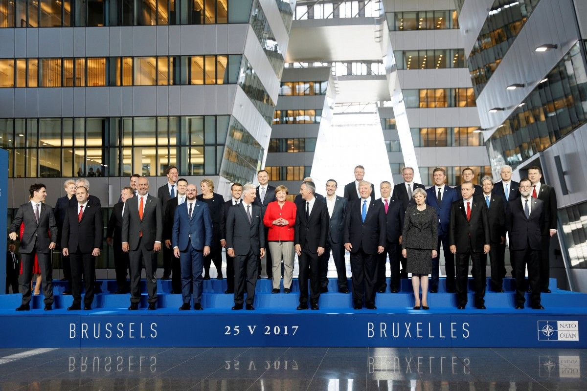 На саміті НАТО Трамп, Туск та Юнкер висловилися за подальшу ізоляцію КНДР
