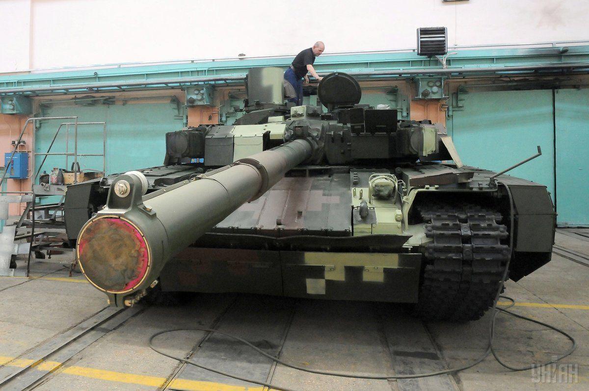 Танк «Оплот» - одна із найпотужніших систем свого класу / фото УНІАН