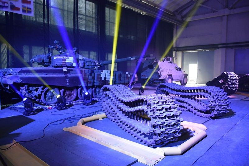 У Львові День Європи відсвяткували на бронетанковому заводі