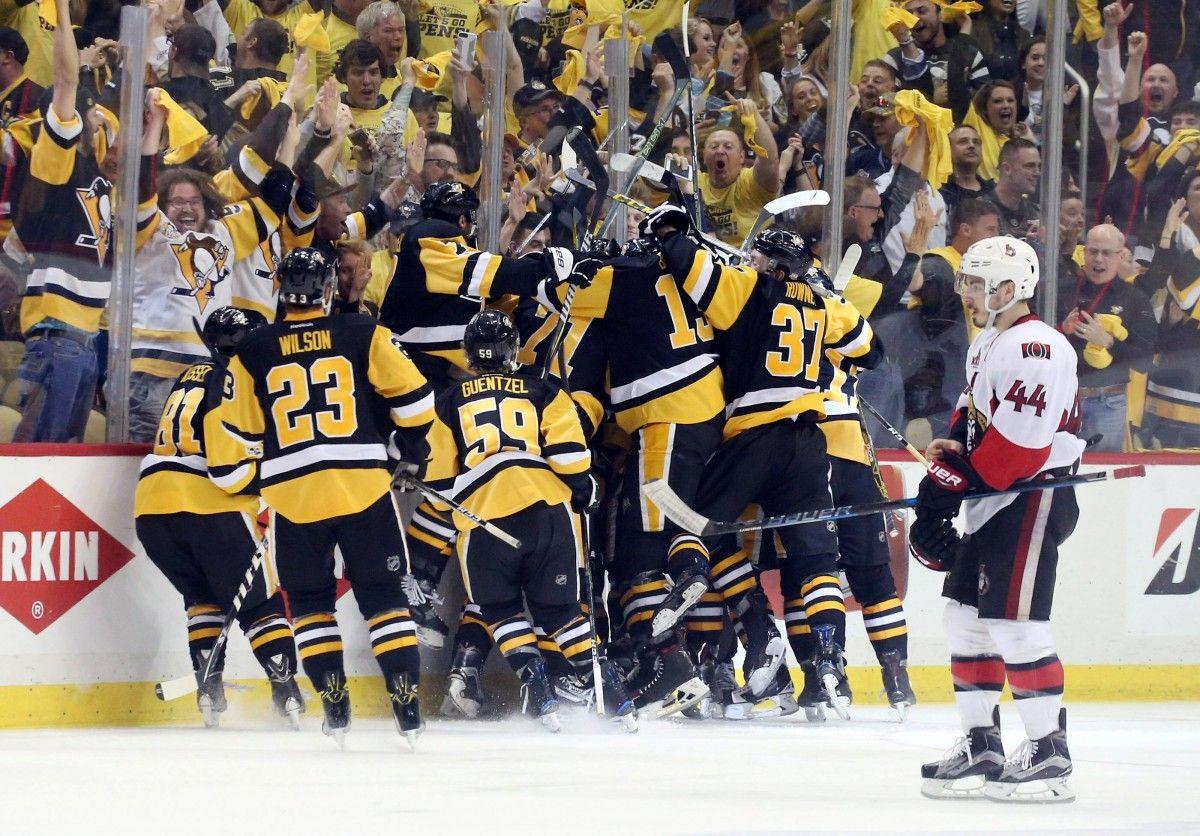 """Игроки """"Питтсбурга"""" могут во второй раз подряд завоевать Кубок Стэнли / Reuters"""