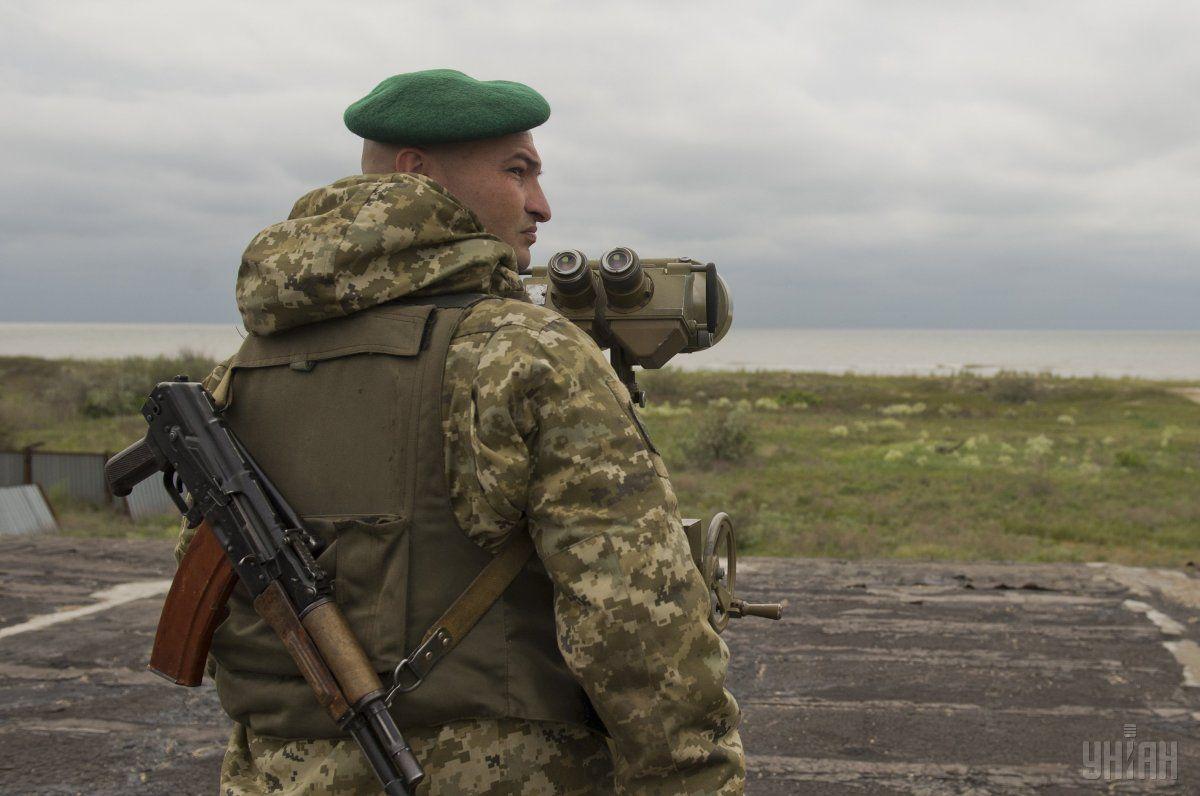 Пропагандиста боевиков задержали вдесяти метрах отгосграницы
