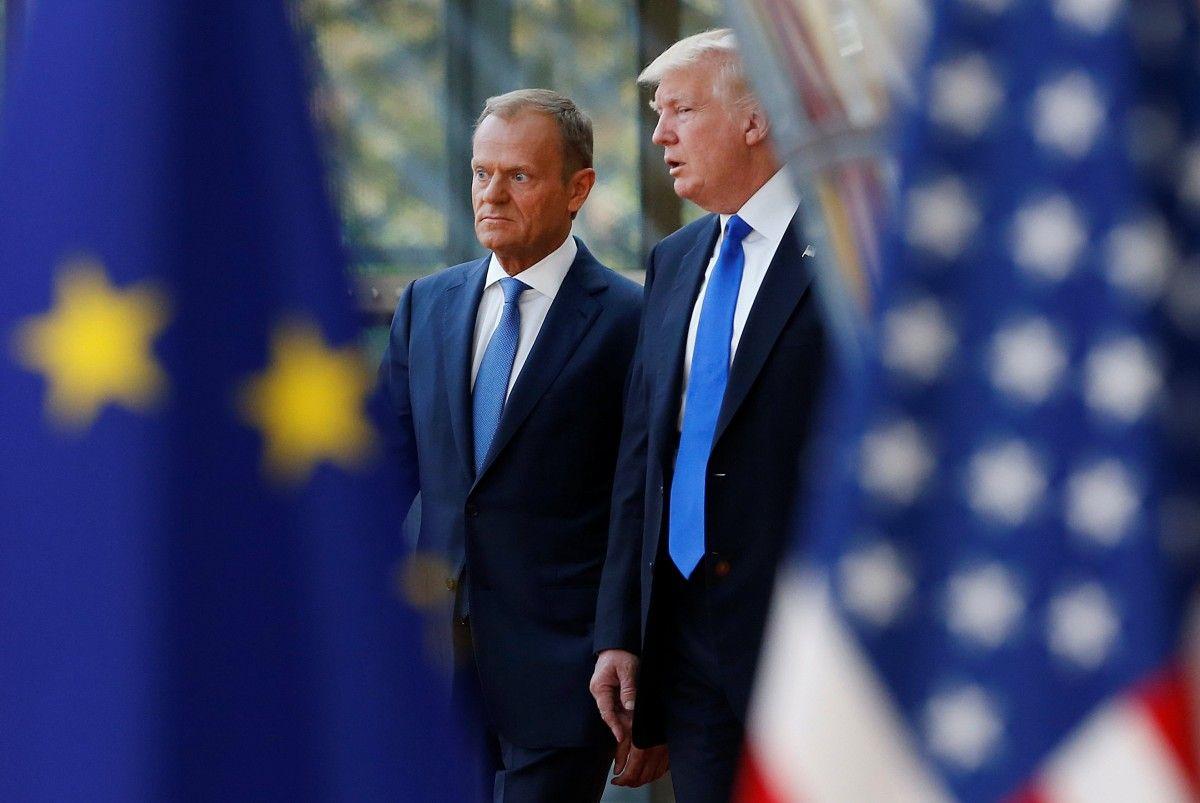 Євросоюз та США продовжуватимуть спільну санкційну політику щодо Росії – Туск