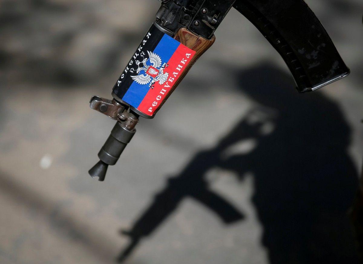 """Задержанный боевик """"ДНР"""" дал показания об участии военных РФ в войне на Донбассе / фото REUTERS"""