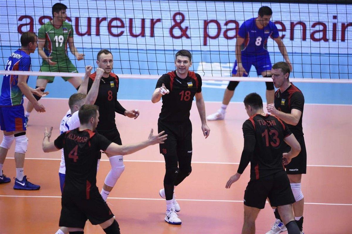 Сборная Украины впервые выиграла на турнире в Лионе / cev.lu