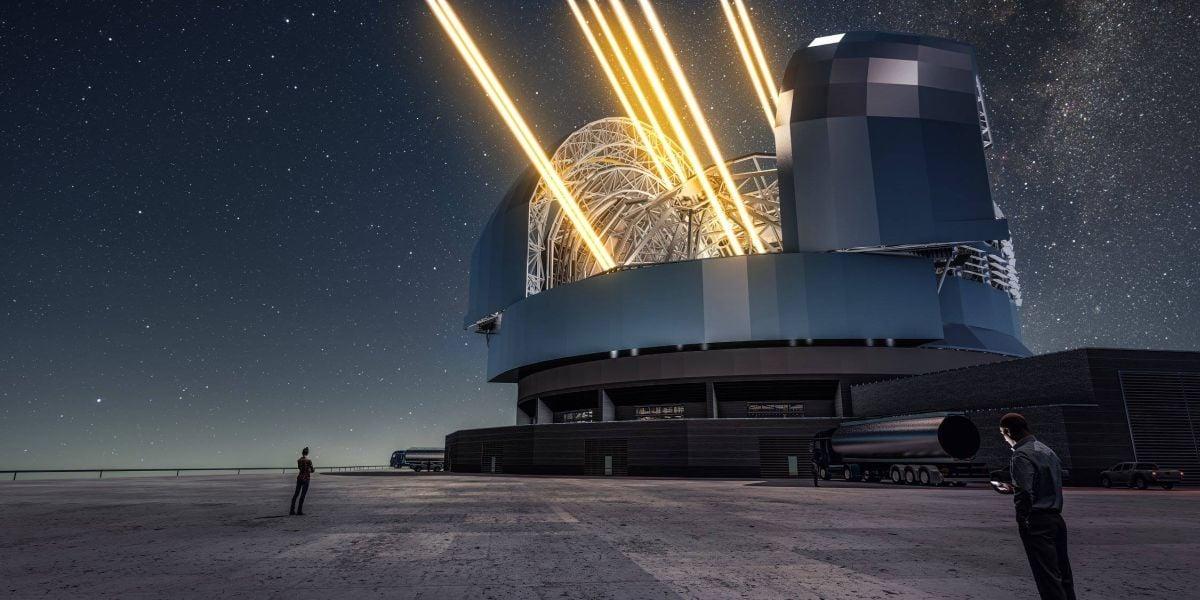 Чили: начали возведение крупнейшего вмире телескопа EELT