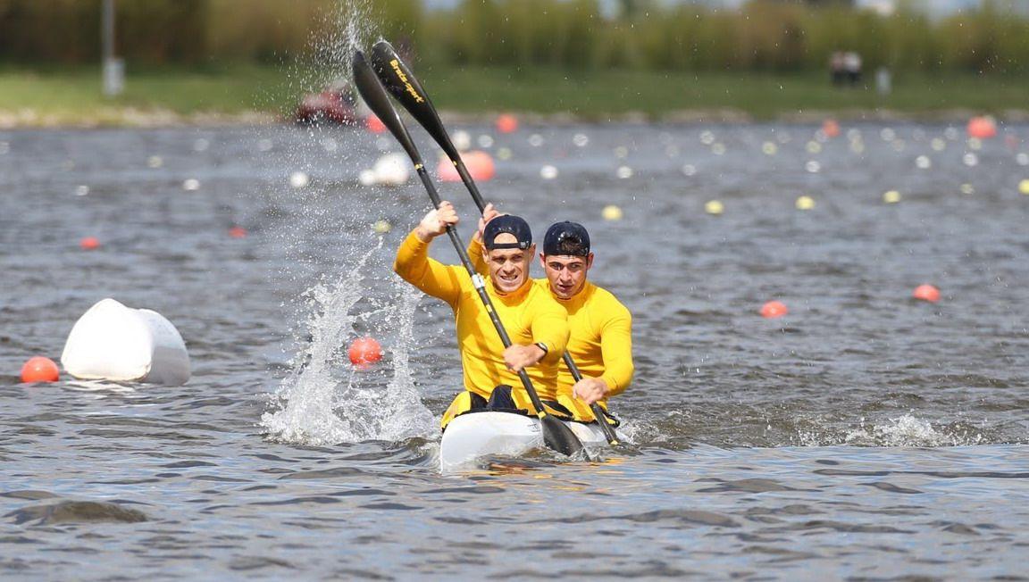 Цуркан и Кухарик завоевали серебро в Сегеде / canoe.in.ua