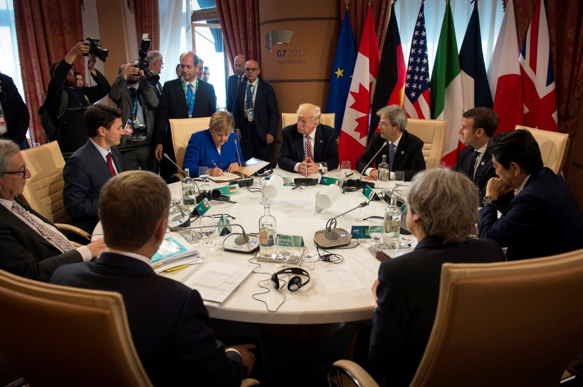 Лидеры G7 / фото REUTERS