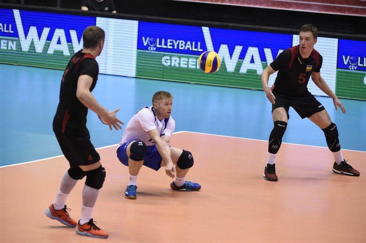 Игроки сборной Украины разгромили команду Исландии / cev.lu
