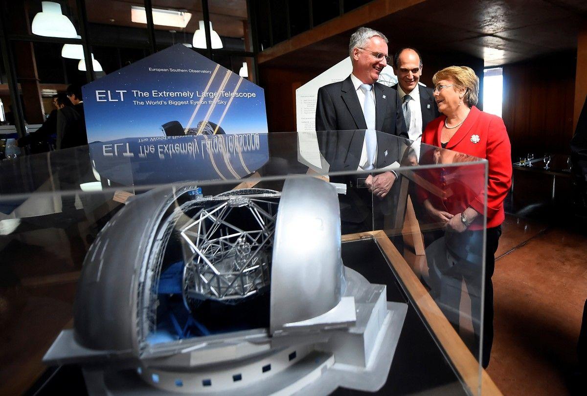 Початок будівництва найбільшого в світі оптичного телескопа