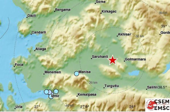 Туреччини стався потужний землетрус / фото emsc-csem.org