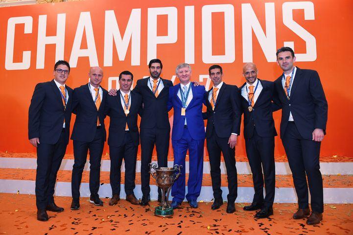 В церемонии награждения принял участие президент горняков Ринат Ахметов  / shakhtar.com