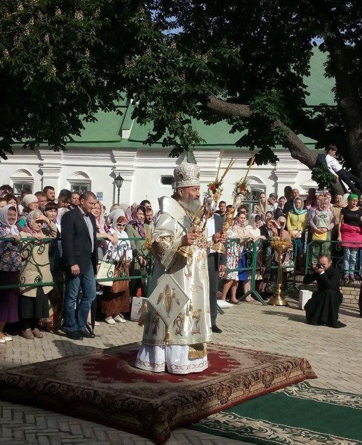 ВХарьков прибыл Митрополит Киевский ивсей Украины Онуфрий