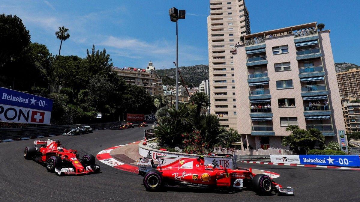 Феттель одержал победу Гран-при Монако, Квята выбили изгонки