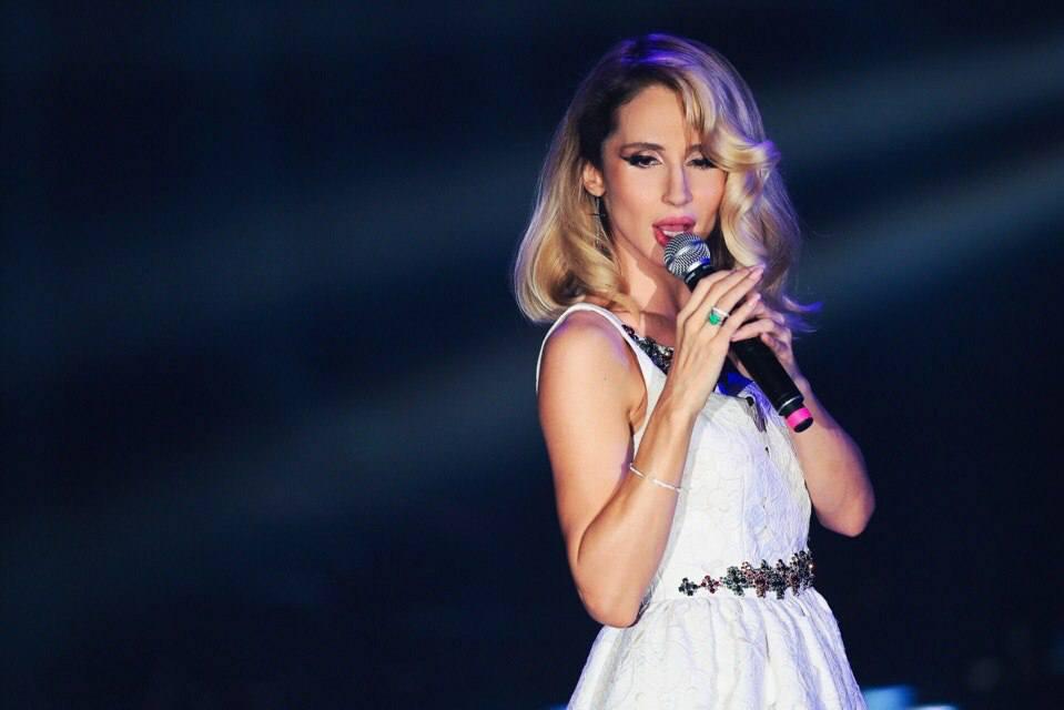 У певицы уже есть старшая дочь - Ева/ фото facebook.com/loboda.official