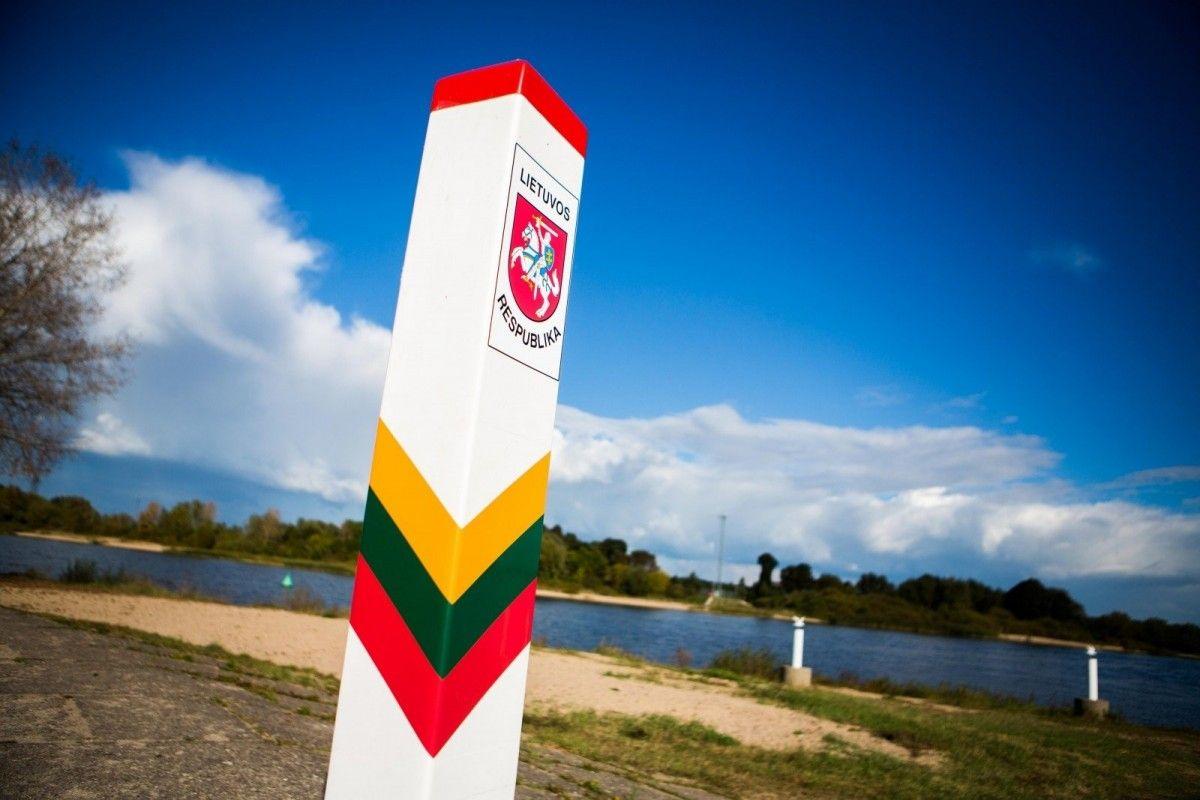 В Литве хотя отгородиться от Беларуси забором /фото Delfi