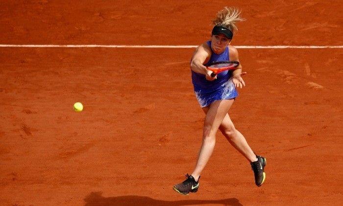 Элина Свитолина выиграла первый матч в Париже / Getty Images