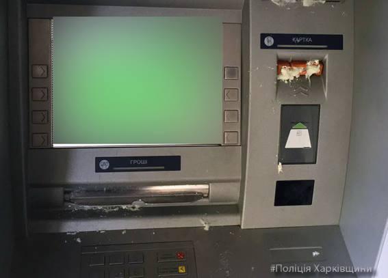 Залитые монтажной пеной банкоматы вХарькове принадлежат «дочке» Сбербанка