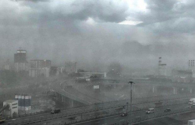 В результате урагана в Подмосковье погиб гражданин Украины / @edan2154