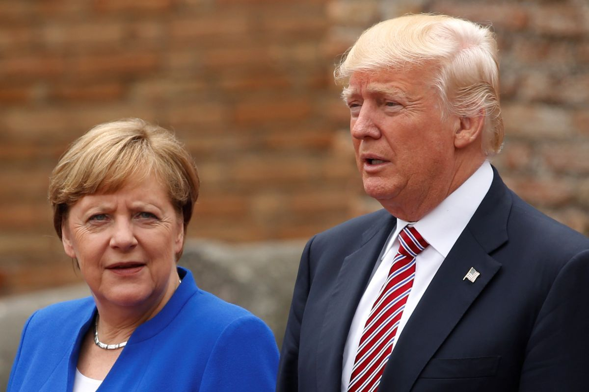 Ангела Меркель і Дональд Трамп / REUTERS
