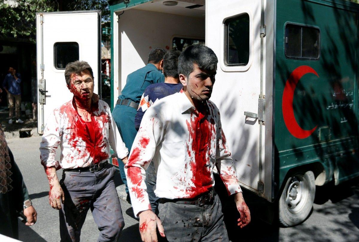 Взрыв в Афганистане / REUTERS