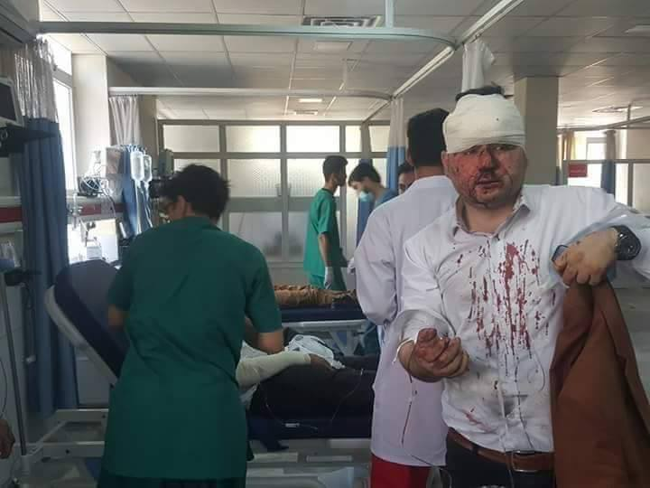 Взрыв произошел рядом с посольством в Германии / Pajhwok Afghan News
