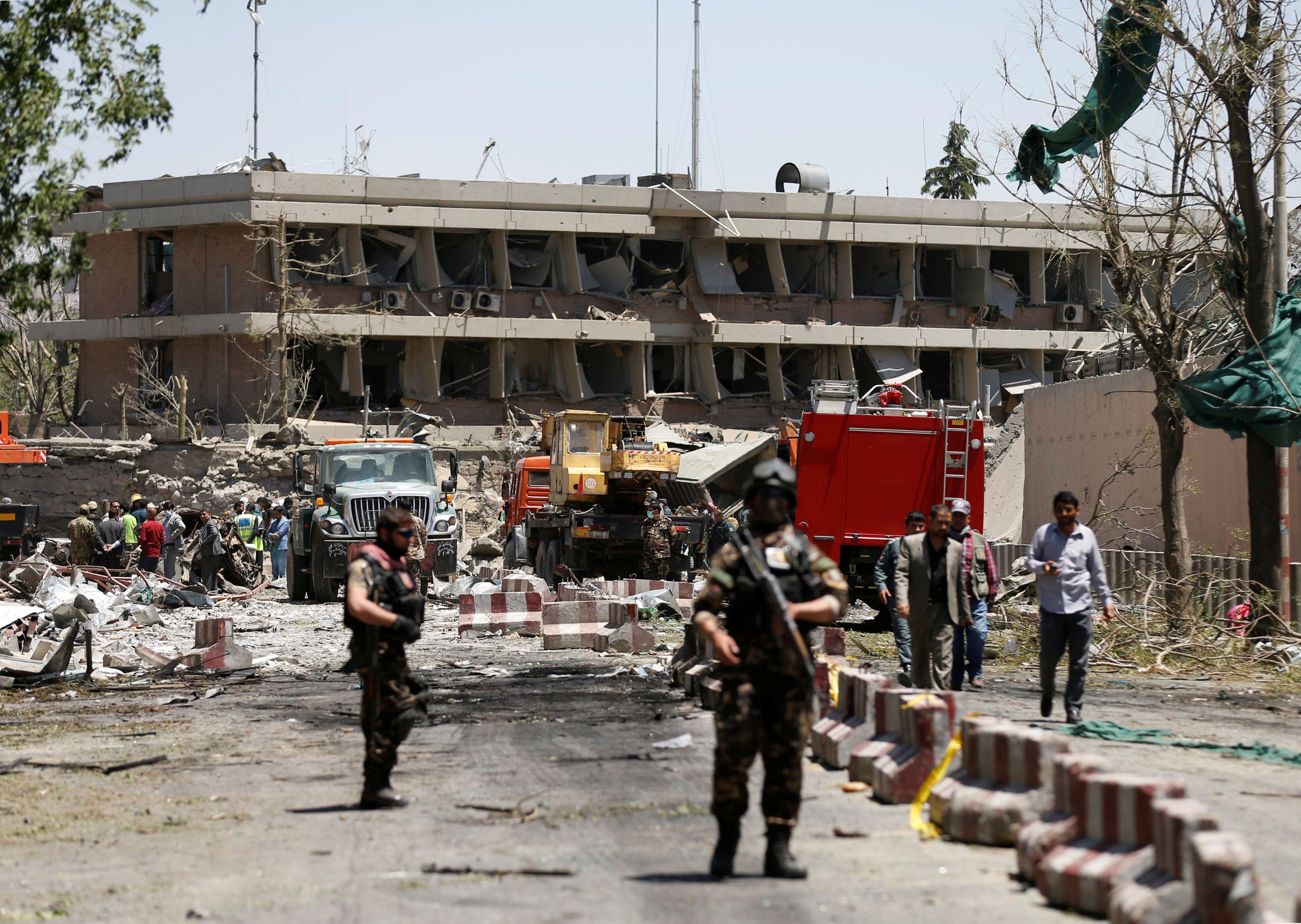 В Кабуле прогремел второй за месяц взрыв / REUTERS