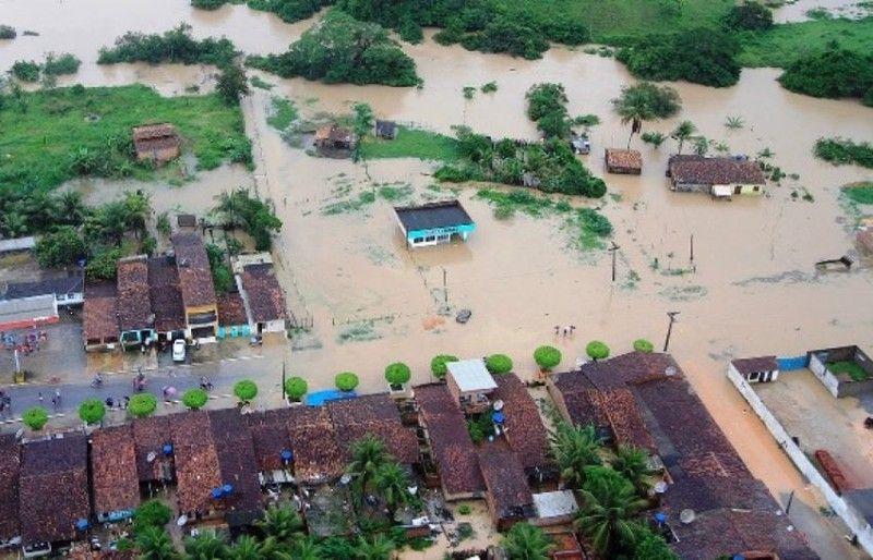Повінь у Бразилії / Thiago Sampaio, Floodlist
