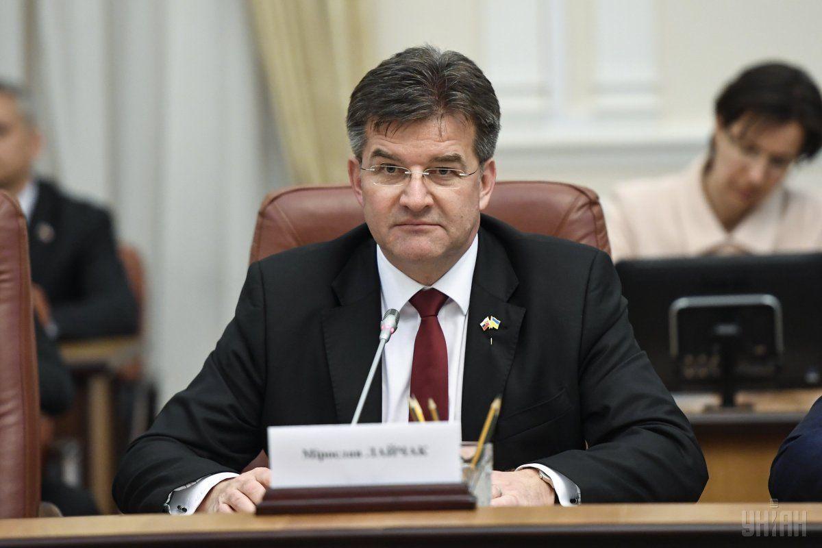 Лайчак оцінив процес перемовин щодо Донбасу / фото УНІАН