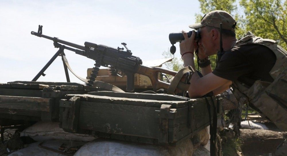 Ukraine's army advances one km closer to occupied Debaltseve in Donbas – volunteer
