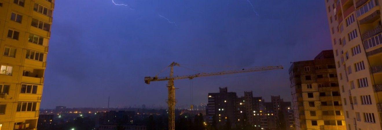 На западе Украины 12-13 августа ожидаются грозы, град и шквалы