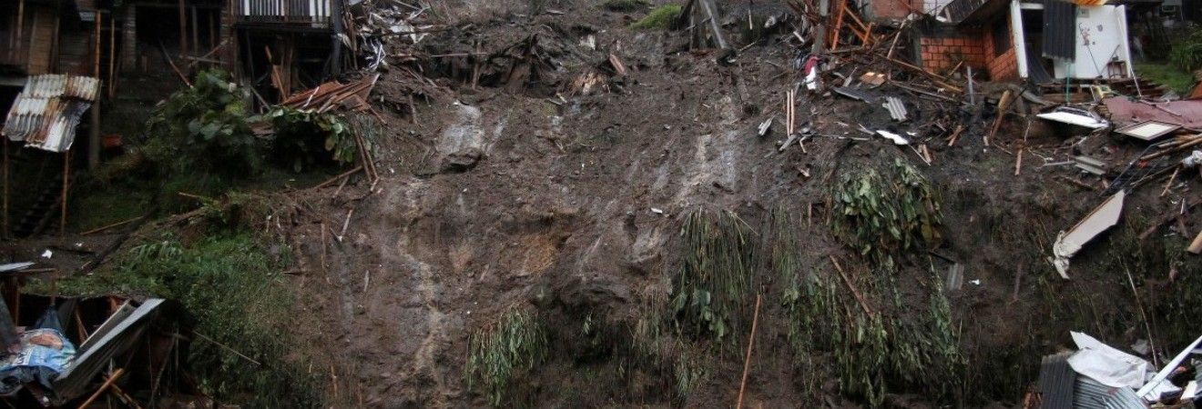 У результаті сходження зсувів в Індії загинули шість осіб
