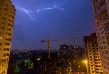 Сегодня по всей Украине пройдут дожди с грозами (карта)
