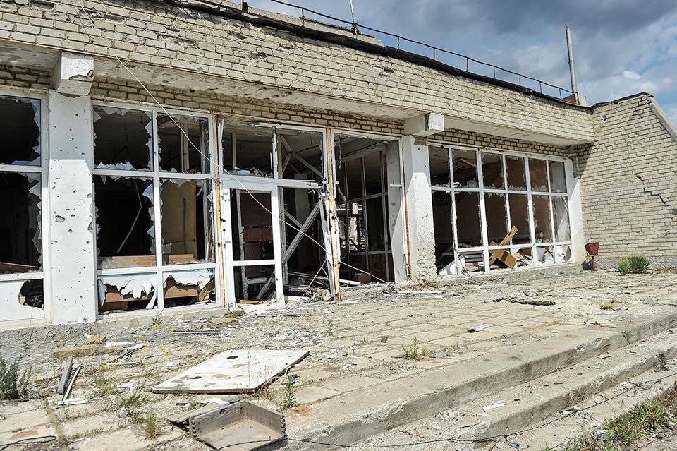 Российские саперы взорвали магазин на Донбассе / иллюстрация facebook.com/oleksandr.turchynov