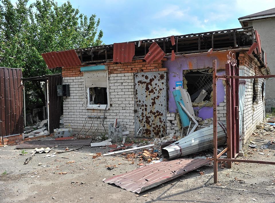 Ситуация на Донбассе остается крайне напряженной / фото facebook.com/oleksandr.turchynov