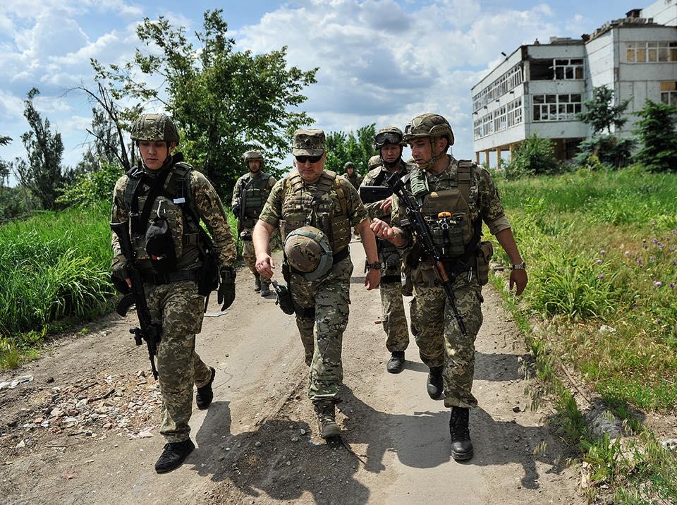 Турчинов запропонував завершити етап АТО на Донбасі / фото facebook.com/oleksandr.turchynov