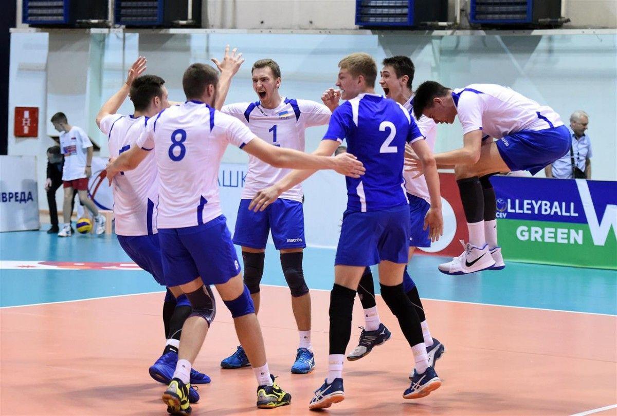 Сборная Украины (U-21) является участником финальной части чемпионата мира / cev.lu