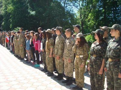 """Гра """"Джура"""" / Фото прес-служби Тернопільської ОДА"""