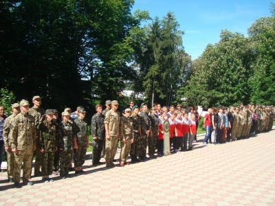 За першість змагалися 36 шкільних команд / Фото прес-служби Тернопільської ОДА