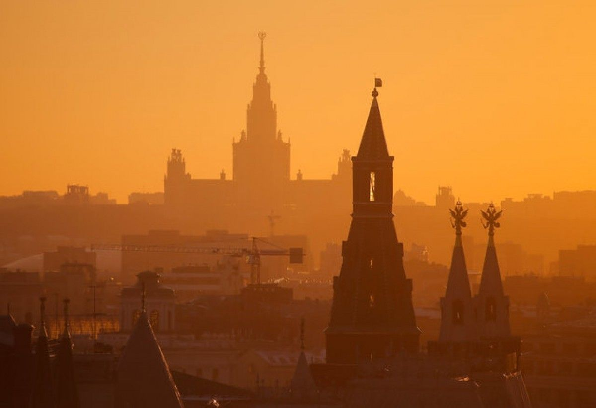 В Кремле обеспокоены происходящим в Кыргызстане / фото REUTERS