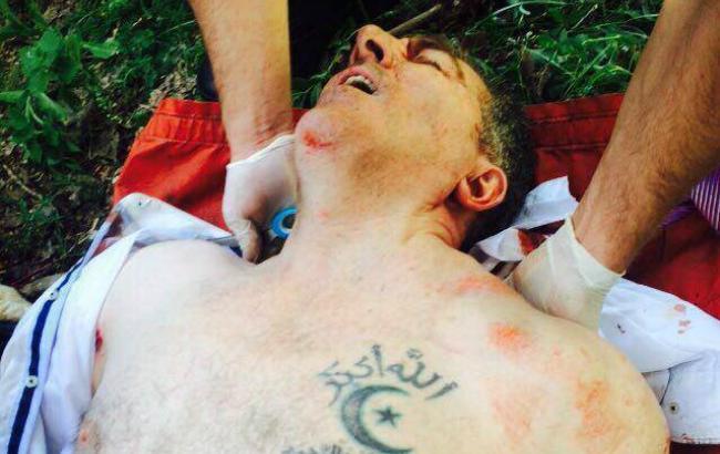 В Киеве совершили покушение на Осмаева / фото www.rbc.ua