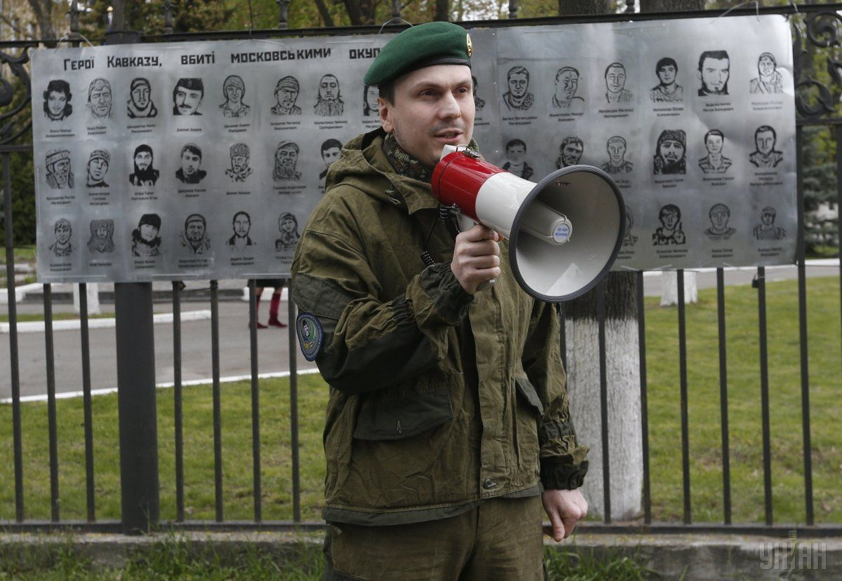 В киеве произошло покушение на Осмаева / фото УНИАН