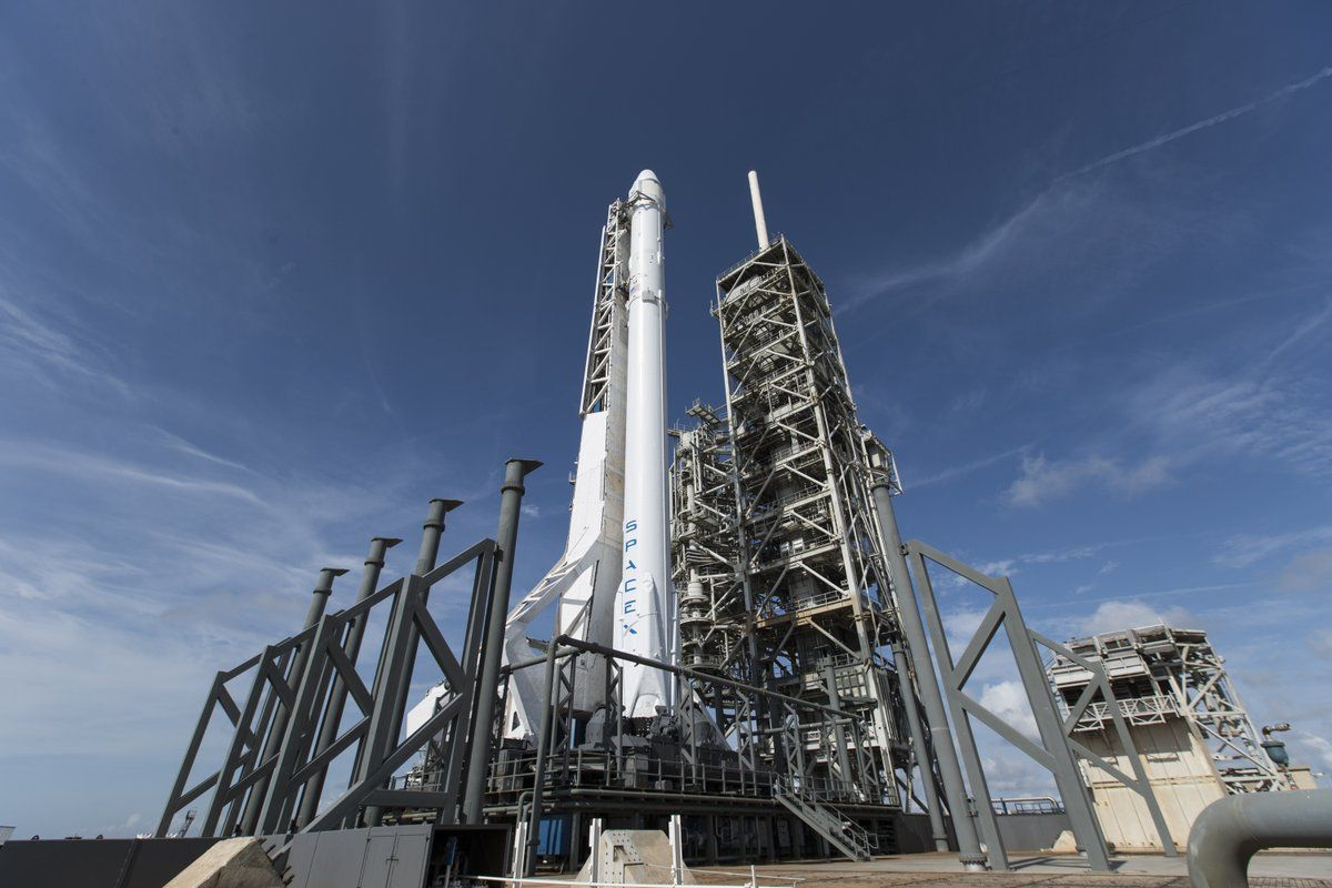 Ракета Falcon 9 / фото twitter.com/SpaceX