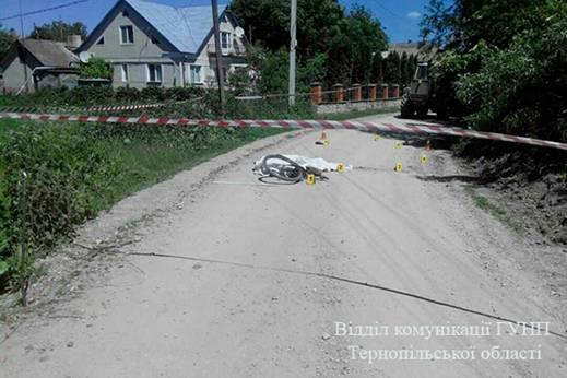 Шансів вижити у чоловіка не було / Фото відділу комунікації поліції Тернопільської області