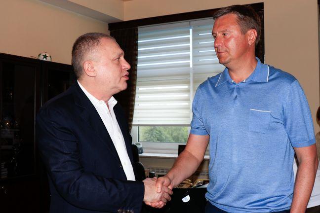 Хацкевич— головний тренер київського «Динамо»