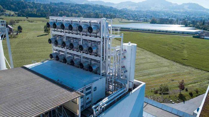 Завод располагается недалеко от Цюриха / фото Climeworks