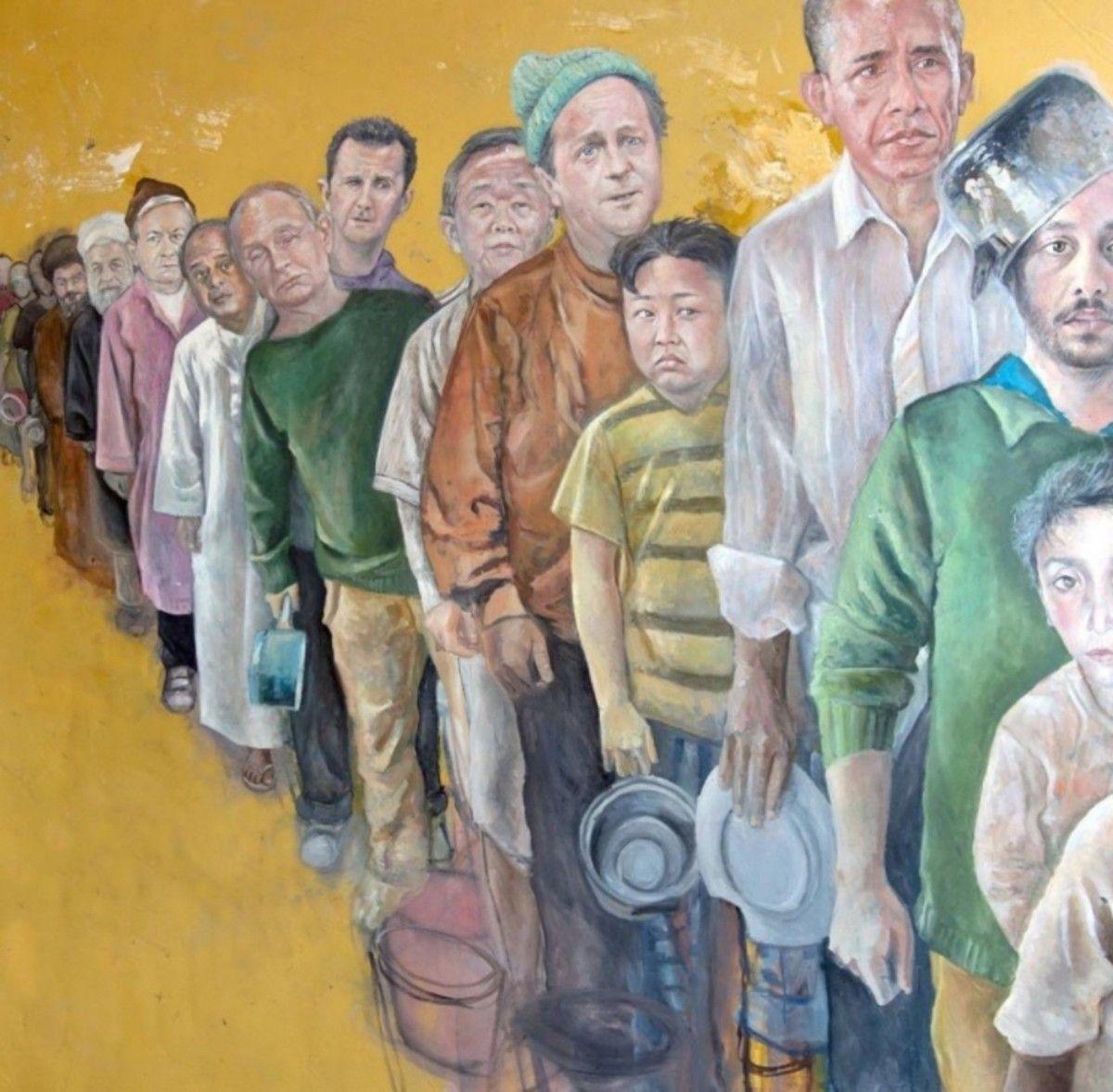 Картинки по запросу мировые лидеры в образе беженцев картинки