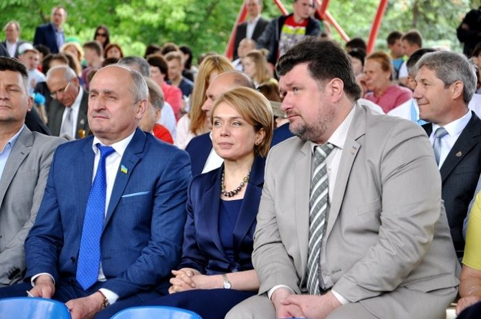 Гриневич взяла участь в урочистостях з нагоди ювілею університету / фото oda.zt.gov.ua